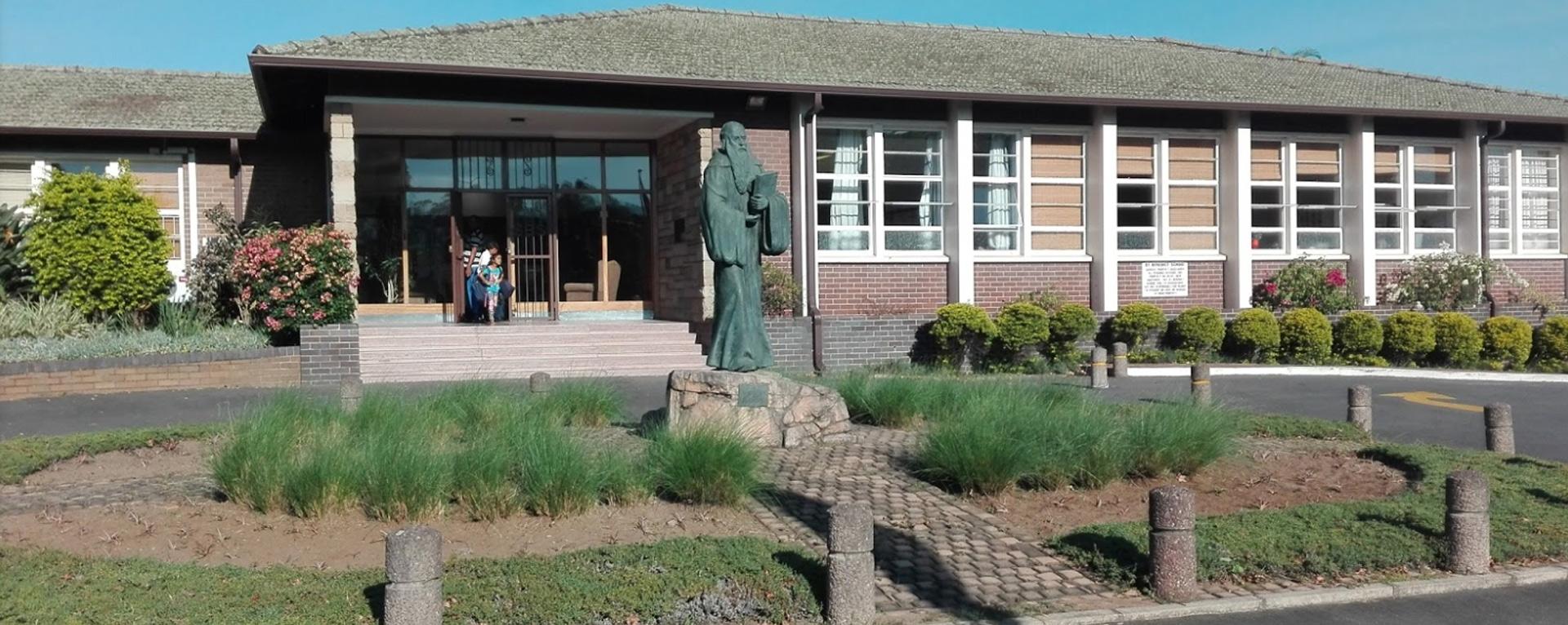 st-benedict-school-front-view